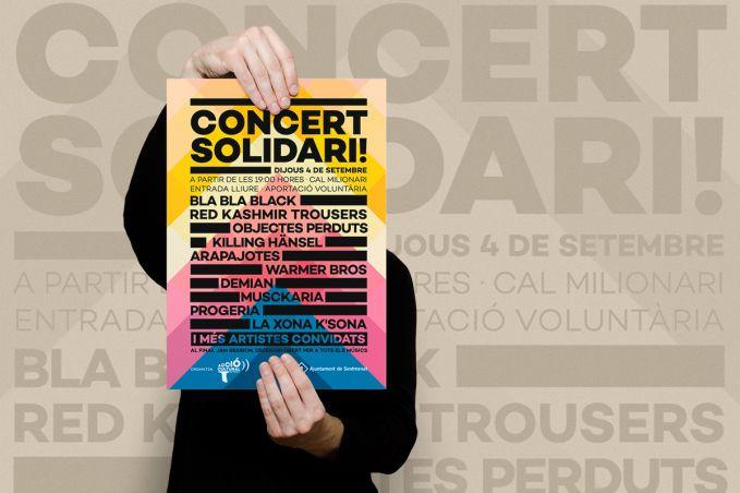 Concert solidari per la cultura local