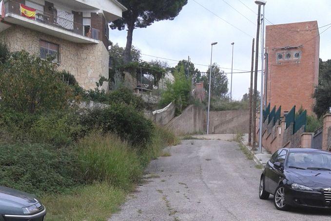 Estat dels carrers de les urbanitzacions de Sentmenat