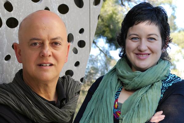 Odón Elorza i Montse Rueda