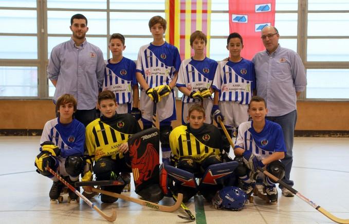L'Aleví A 2014/2015 (actual Infantil D).